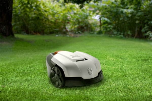 husqvarna automower 105 m hroboter roboter rasenm her rasenroboter. Black Bedroom Furniture Sets. Home Design Ideas